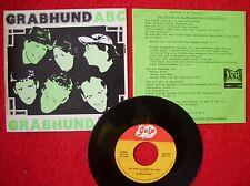 """GRABHUND ein Stuhl 7"""" Kassel-Punk 1980 / Sigmund Freud Experiece/BLUTVERLUST"""