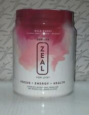 ZEAL FOR LIFE 30 Day Canister Wild Berry Wellness Formula 11/17 Exp Date