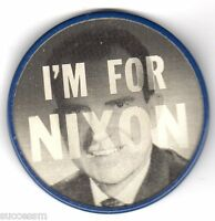 Richard Nixon Vari Vue Flasher Campaign Button