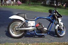 FRAME Rolling Chassis VROD Harley VRSC Drag Bike Inverted Front End Roller Tank