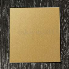 Golden Brass Metal Thin Sheet Plate 1.5mm x 100mm x 100mm Material For Welding