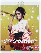 Lady Snowblood 1 & 2 -  [Dual Format Edition - DVD & Blu ray] NEW & SEALED