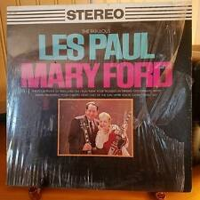 THE FABULOUS LES PAUL AND MARY FORD-LP-HARMONY-HS 11133-STILL IN FACTORY PLASTIC