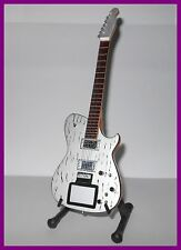 MUSE - GUITARE MINIATURE BROKEN MIRROR ! MATTHEW BELLAMY COLLECTION Electrique s