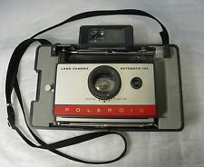 Vintage Polaroid 104 Automatic Land Camera With Manuals -  Great Condition!
