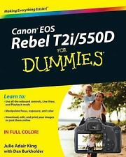 Canon EOS Rebel T2i550D For Dummies (For Dummies (ComputerTech))-ExLibrary