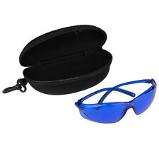 Portable Safety Red Laser Protection Goggle IPL E-Light Blue Glasses w/ Box