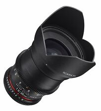 Rokinon Cine DS 35mm T1.5 AS IF UMC Full Frame Cine Wide Angle Lens for Nikon