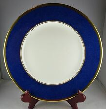 Coalport Bone China Athlone Blue Dinner Plate - Blue with Gold Trim