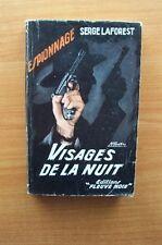 FLEUVE NOIR SERIE ESPIONNAGE n° 82 VISAGES DE LA NUIT