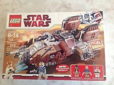 Star Wars Lego 7753 The Clone Wars Pirate Tank  New  Sealed !