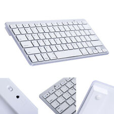 Bluetooth 3.0 Wireless Keyboard for Apple iPad 1 2 3 4 Mac Computer PC Macbook