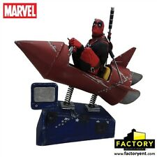Factory Entertainment Marvel Deadpool Rocket Ride Premium Motion Statue MIB