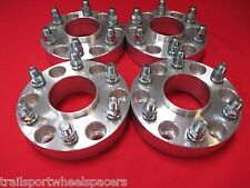 "4 pcs 6 Lug GMC Sierra 1500 Truck (1.25"") Hub centric WHEEL SPACERS ADAPTER"