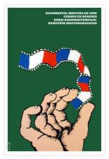 "Cuban decor Graphic Design movie Poster""Cuba Cinema in HUNGARY Festival""flag"