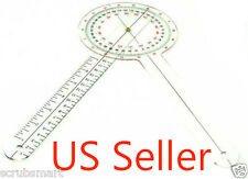 """Brand New Goniometer 12 inch 12"""" Physical Therapy - US seller FREE FAST SHIPPING"""