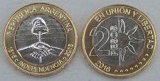 Argentinien / Argentina 2 Pesos 2016 200 Jahre Unabhängigkeit unz.