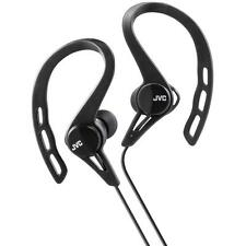 Jvc HAECX20/BLACK Comfortable Sweat & Splash Proof In Ear Sports Headphones