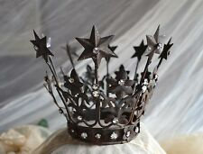 French Santos Caged Doll Crown Tiara Shabby Chic Reproduction Antique