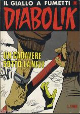 DIABOLIK R N° 369 - 17 GIUGNO 1993 - CONDIZIONI OTTIME
