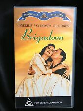 """BRIGADOON""~ GENE KELLY, CYD CHARISSE, VAN JOHNSON ~ VHS VIDEO"