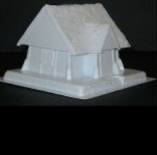 Amera F223 20 To 28mm Vacuformed Plastic Wooden House with Chimney