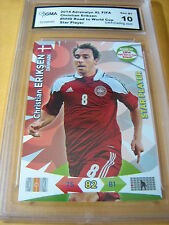 CHRISTIAN ERIKSEN 2014 ADRENALYN XL ROAD TO WORLD CUP STAR PLAYER GRADED 10