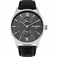 BRAND NEW BEN SHERMAN Men's London Spitalfields Vinyl Watch WB047B