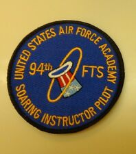 USAF PATCH, 94TH FLYING TRAINING SQUADRON,US AIRFORCE ACADEMY,SOARING INSTRUCTOR