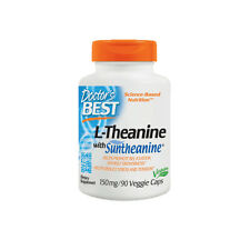L-Theanine with Suntheanine - 90 - 150mg Vcaps - Reduces Stress and Tension