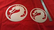 YOUTH ADULT T SHIRT AIRBRUSH STENCILS KOMBAT DRAGON SET OF 2 FAST FREE SHIP!