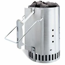 Weber Rapidfire Chimney Starter, BBQ Grill Accessory, 7416, New, Free Shipping