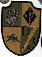 Subdued US Marine Corps Patch 1st USMC Division Artillery