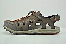 Mens Merrell Sable Bungee Strap Sandals Size 9 Brown Grey Orange J276558C