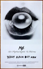 MØ No Mythologies To Follow Ltd Ed Discontinued RARE Poster +FREE Pop Poster! MO