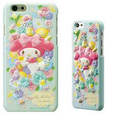 Sanrio My Melody Relief iPhone 6 Case /Blue/Hard Case/6s/Made in Japan /New