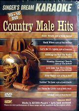 Singer's Dream Karaoke DVD -  SDK DVD 9507 Country Male Hits
