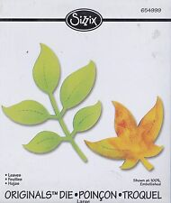 Sizzix Originals Large Die Cutter Leaves Stu Kilgour Ellison 654999 New