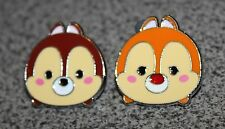 DISNEY PIN CHIP AND DALE TSUM TSUM SET OF TWO FROM MYSTERY PACK