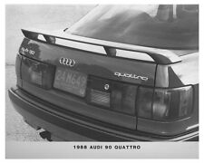 1988 Audi 90 Quattro Automobile Factory Photo ch7483