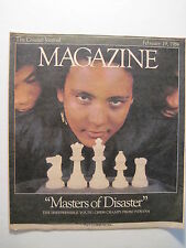 Louisville Courier Journal Magazine 1984. Italian Recipes! Chess Teams!
