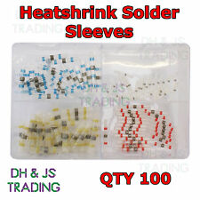 Assorted Box of Heatshrink Solder Sleeves - adhesive lined heat shrink sleeve