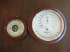 Brometer, Humidity, Tempature, Wall mounted, Lot of 2