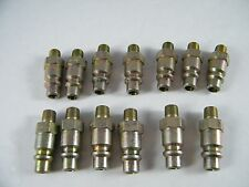 "(13) FOSTER 1/8"" NPT X 1/4"" ID QUICK DISCONNECT TUBE PART # 38-4"