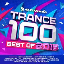 TRANCE 100-BEST OF 2016+Armin van Buuren,Paul van Dyk,Omnia,Rank1  4 CD NEU