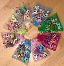 Littlest Pet Shop LPS Lot Random Gift Grab Bag 5 Pets Incl. 1 DOG or CAT