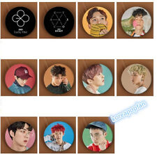 11pics PINS SET EXO BADGE EXACT EX'ACT LUCKY ONE CHAN YEOL BAEK HYUN DO KAI LAY