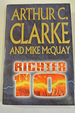 Book. Richter 10 by Mike McQuay, Arthur C. Clarke (Hardback, May 1996) HBDJ.