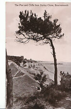 Dorset Postcard - The Pier and Cliffs from Durley Chine - Bournemouth   DR465
