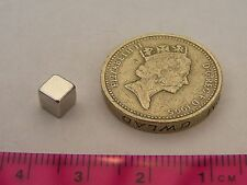 20 of 5mm Cube Magnets - Powerful - NdFeB,Neodymium, NIB,Rare Earth Magnetic